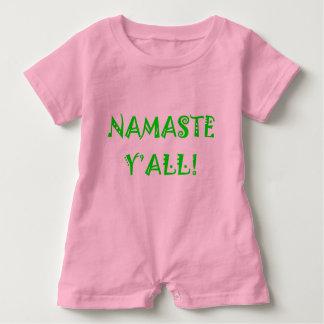 ナマステ-赤ん坊のヨガの衣服 ベビーロンパース