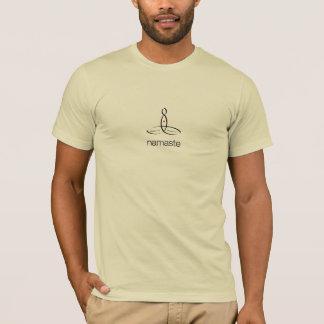 ナマステ-黒く規則的なスタイル Tシャツ