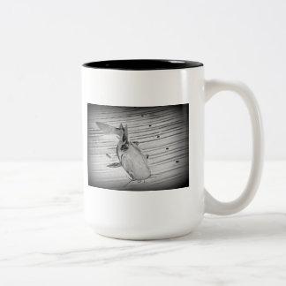 ナマズのマグ ツートーンマグカップ