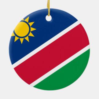 ナミビアのオーナメントの旗 セラミックオーナメント