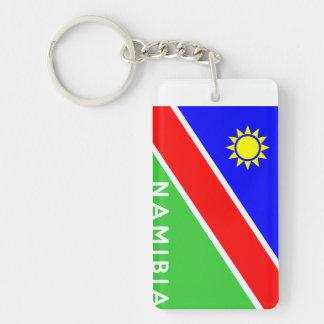 ナミビアの国旗の文字の名前 キーホルダー