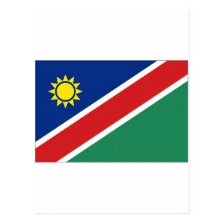 ナミビアの国旗 ポストカード