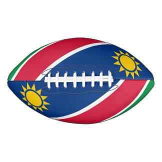 ナミビアの旗 アメリカンフットボール