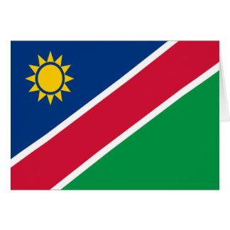ナミビアの旗 カード