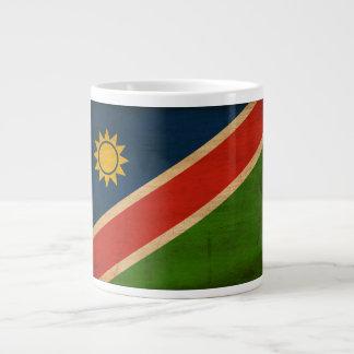 ナミビアの旗 ジャンボコーヒーマグカップ