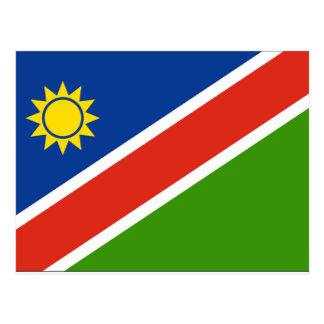 ナミビアの旗 ポストカード