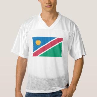 ナミビアの旗 メンズフットボールジャージー