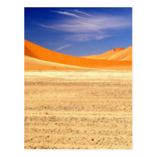 ナミビアの砂丘 ポストカード