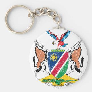 ナミビアの紋章付き外衣 キーホルダー