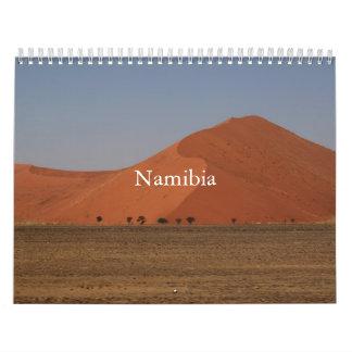 ナミビアはカレンダーを印刷しました カレンダー
