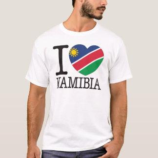 ナミビア愛v2 tシャツ