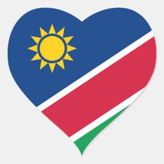 ナミビア ハートシール