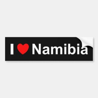 ナミビア バンパーステッカー