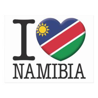 ナミビア ポストカード