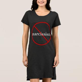 ナルシスト無し-カジュアルな綿の服 ドレス