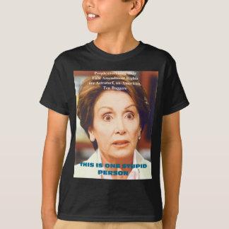 ナンシーPELOSI- 1の愚かな人 Tシャツ