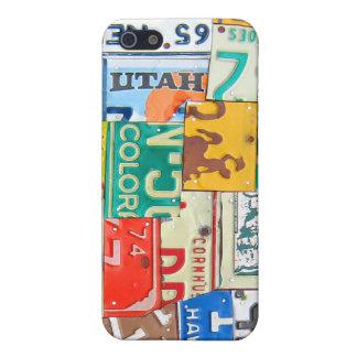 ナンバープレートの地図のiphone 4ケース iPhone 5 cover