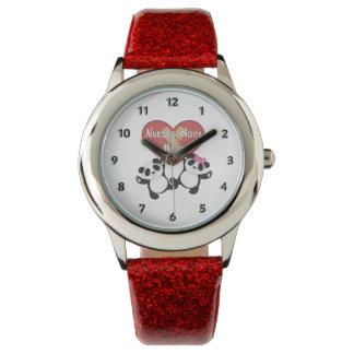 ナースにハートがあります 腕時計