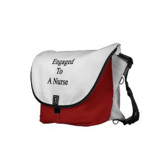 ナースに婚約した メッセンジャーバッグ