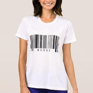 ナースのバーコード Tシャツ