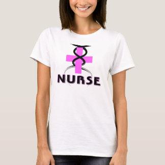 ナースのピンク Tシャツ