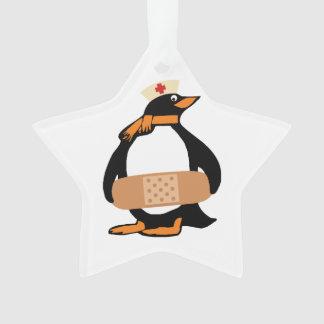 ナースのペンギン(w/bandaid) オーナメント