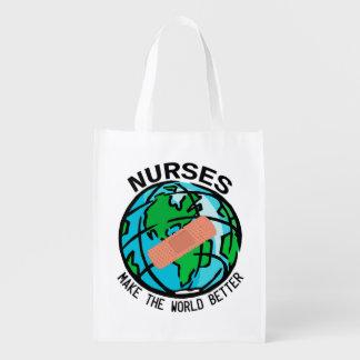 ナースの世界のReuseableのバッグ エコバッグ