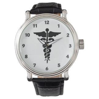 ナースの医学の記号 腕時計