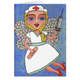 ナースの妖精-挨拶状 カード