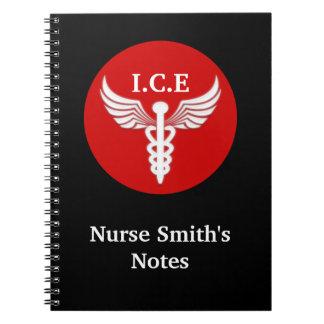 ナースの学校の医者のノート ノートブック