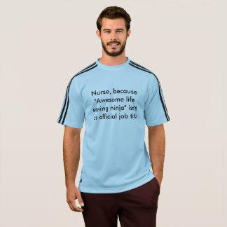 ナースの引用文 Tシャツ