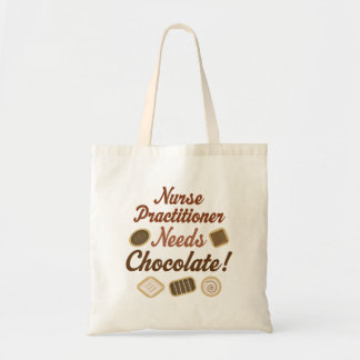 ナースの従業者はチョコレートを必要とします トートバッグ