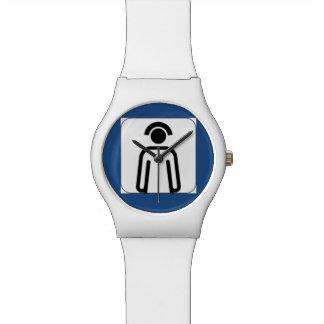 ナースの白い腕時計 ウオッチ