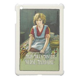 ナースのMarjorieポスター iPad Miniケース