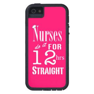 ナースはhrsまっすぐなそれを12します! -かわいらしいピンク iPhone SE/5/5s ケース