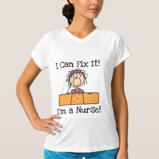 ナースはI Tシャツおよびギフトそれを固定できます Tシャツ