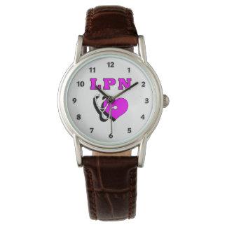 ナースはLPNのために見ます 腕時計