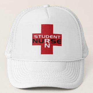 ナース赤いRN学生の帽子 キャップ
