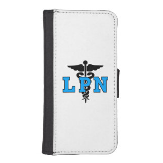 ナースLPNの医学の記号 iPhoneSE/5/5sウォレットケース