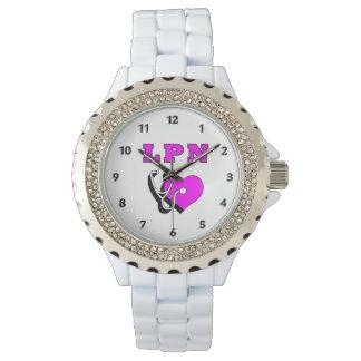 ナースLPNの心配 腕時計