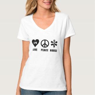 ナースLPN愛平和ナース Tシャツ