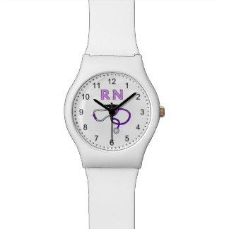ナースRNの聴診器 腕時計