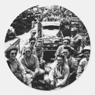 ナースWWIIの護送 ラウンドシール
