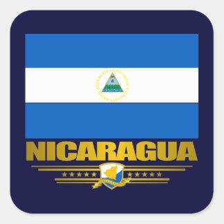 """""""ニカラグアのプライド"""" スクエアシール"""