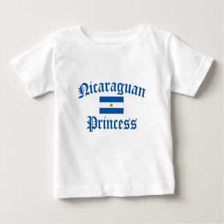 ニカラグアのプリンセス ベビーTシャツ