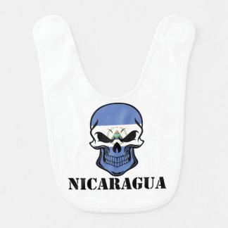 ニカラグアの旗のスカルニカラグア ベビービブ