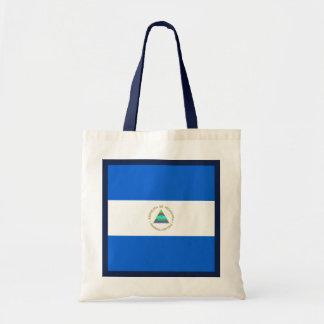 ニカラグアの旗のバッグ トートバッグ