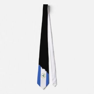 ニカラグアの旗 オリジナルネクタイ