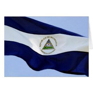ニカラグアの旗 カード