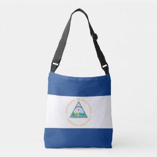 ニカラグアの旗 クロスボディバッグ